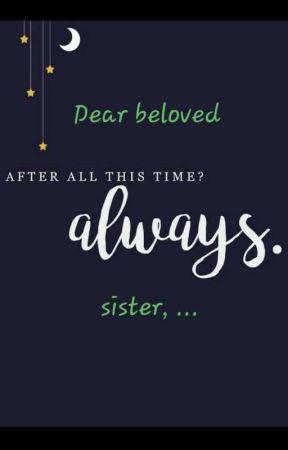 Dear beloved sister by Pueschi