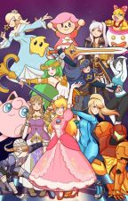 Smash Bros Ulitmate Girls Harem X Male Reader by Chomper384