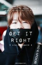 Get It Right | Kim Seungmin by _seungmini_