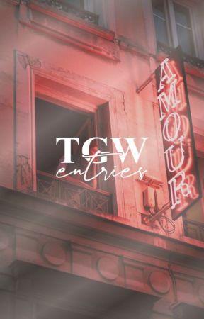 TGW entries by curiousIy