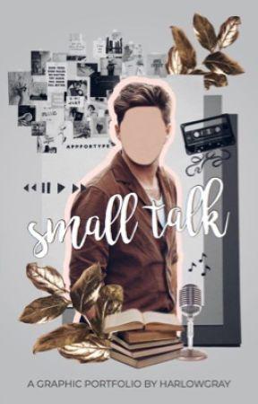 small talk // graphic portfolio  by harlowgrayyy
