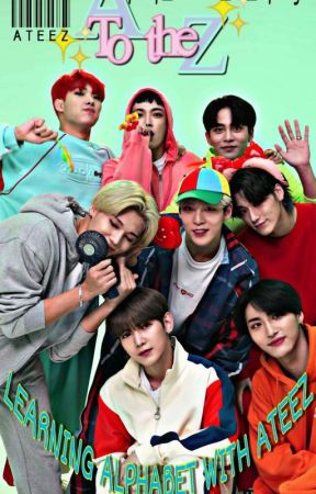 Learn the alphabet with ATEEZ by My_Heart_Is_Hyunjin
