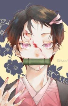 A small growing demon - male nezuko x my hero academia  by fanartist105