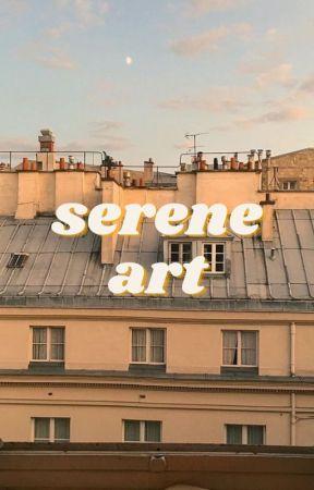 serene   art book by hoodiequeen_