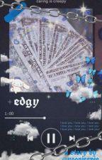 """""""edgy""""   taekook instagram au by yoonieepie"""