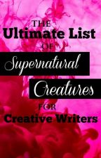 Supernatural creatures by Silver_Sunrise