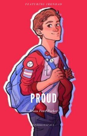 Proud - trans!Peter Parker by spookiespace