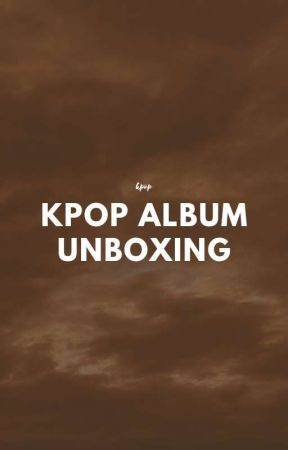 kpop album unboxing by _juska