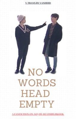v-trans   No Words Head Empty   kookmin