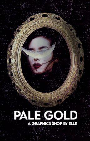 PALE GOLD | a graphics shop / portfolio by SAPPHlC