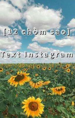 [12 chòm sao]Textfic-instagram