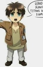 (Comic) Eren who turned into a baby by one of hanji's experiments by TupacEstrada25