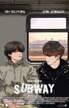 subway, taekook by kooktaegguk