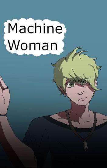 Machine Woman (Rantaro Amami x short!reader)