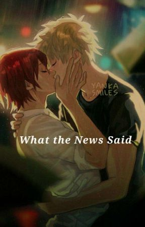 What the News Said. (Kirishima x Bakugou)  by Rolling_on_the_floor