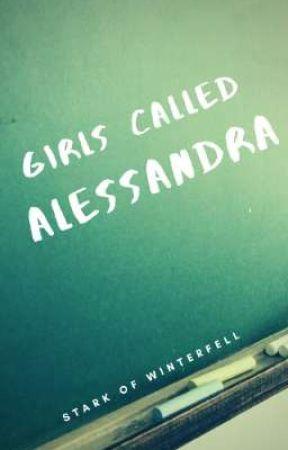 Girls called Alessandra by Stark0fWinterfell