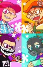 Splatoon Short Stories (Manga characters, ships etc.) by Octo_Woomy