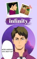 infinity   ushijima wakatoshi x reader by ushiwakababy