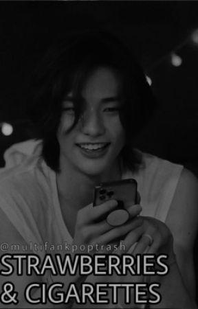 Hwang Hyunjin FF || Strawberries And Cigarettes  by multifankpoptrash
