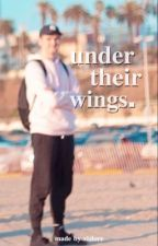 under their wings. || jschlatt x reader by vizlore