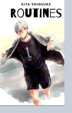 Haikyu!  {Kita Shinsuke} Routines by IwaOi4Life123