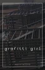 Graffiti Girl // Michael Clifford by bobilina_marie