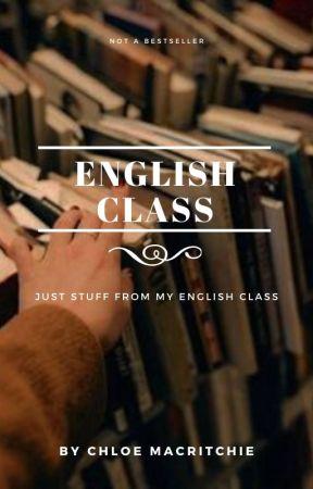 English Class by -chloemac