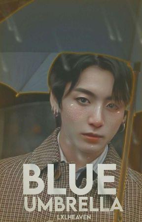 Blue Umbrella / kookv by lxlheaven