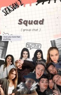 SQUAD - SEASON 2 [group chat] cover