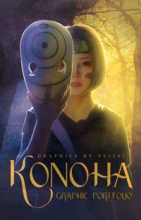 Konoha  graphic portfolio  cover
