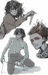 Aizawa x trans male reader cover