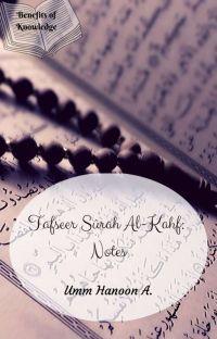 Tafseer Sûrah Al-Kahf: Notes cover