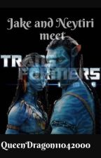 Jake and Neytiri meet Transformers Prime by QueenDragon11042000