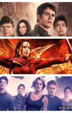 Book 1: Fandom Memes (Maze Runner, Hunger Games, Divergent) by newtfourgale
