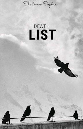 Death list by Dream_Writer11