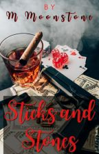 Sticks and Stones by m_moonstone