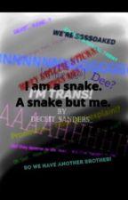 I am me. A snake but me by Deceit_Janus_Sanders