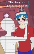 the blue haired boy (2d x reader) by magic1mushrooms