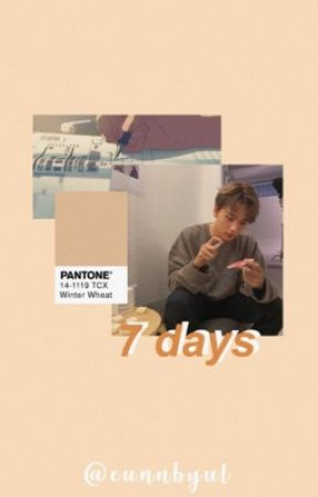 7 days // lee donghyuck by EUNNBYUL