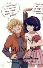 Just siblings? - A miraculous ladybug AU by xxxjustawriterxxx