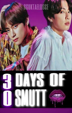 30 Days Of Smutt Challenge.─KookTae by gguktaeloose