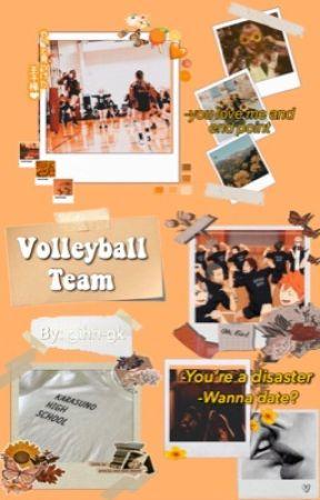 Volleyball team- Haikyuu!!  by gihh-gk