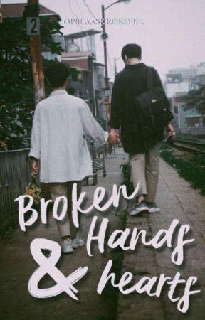 broken hands & hearts. by opblaaskrokobil
