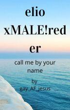 elio perlman xMALE!reader by gay_AF_jesus