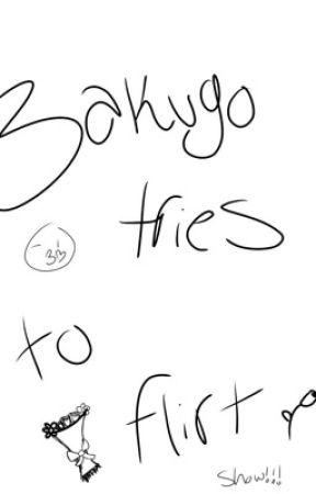 Bakugou tries to flirt show!! by gayshizzzz