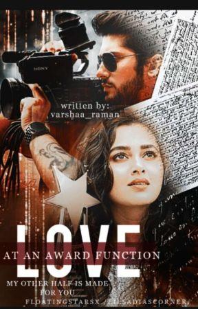 Love at an award function by varshaa_raman