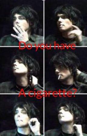 Do you have a cigarette? (Vampire Gerard) by im_a_pest_