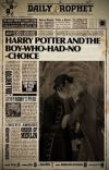 Harry Potter and The Boy Who Had No Choice cover
