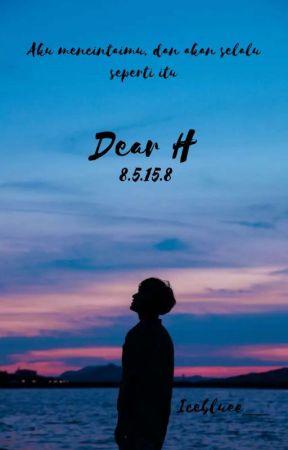 Dear H : 8-5-15-8 by Icebluee__