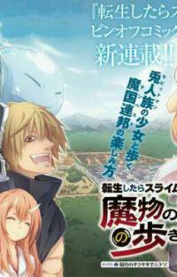Tensura: mabutsu no kuni no arukikata cover